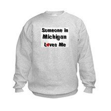 Michigan Loves Me Sweatshirt
