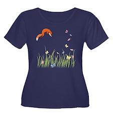 Fox Plus Size T-Shirt