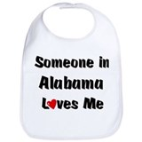 Alabama Loves Me Bib