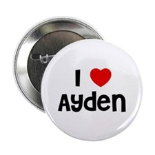 "I * Ayden 2.25"" Button (10 pack)"