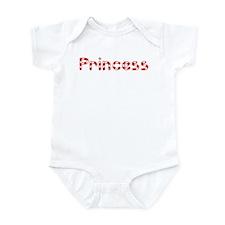 Princess - Candy Cane Infant Bodysuit