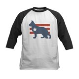 Patriotic German Shepherd Tee