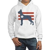 Patriotic Great Dane Hoodie