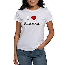 I Love Alaska Tee