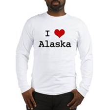 I Love Alaska Long Sleeve T-Shirt