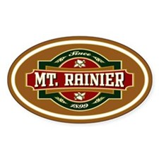 Mt. Rainier Old Label Decal