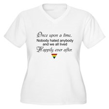 Happily ever after (w/ rainbow triangle) Plus Size