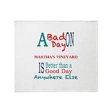 Marthas Vineyard Throw Blanket