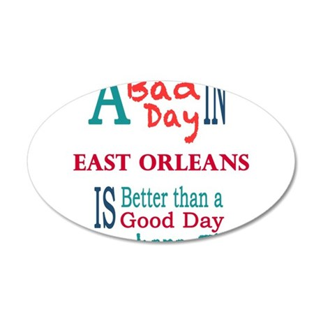 East Orleans Wall Decal