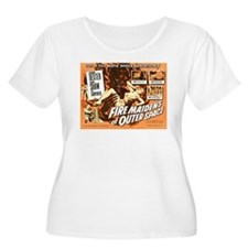 FIRE MAIDENS OF OUTER SPACE Plus Size T-Shirt