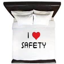 Unique Safety funny King Duvet