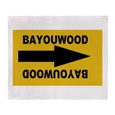Bayouwood Throw Blanket