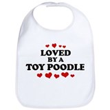 Loved: Toy Poodle Bib