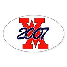 REBELS Oval Decal