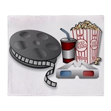 3D Cinema Throw Blanket