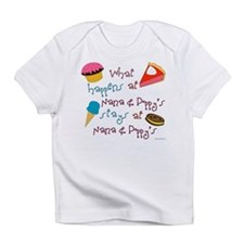 Cute Expectant grandmother Infant T-Shirt