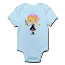 Pirate Girl w/ Sword Infant Bodysuit