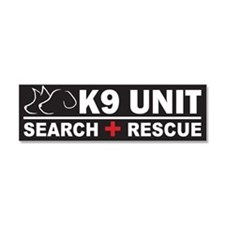 K9 Unit SAR Search Rescue Car Magnet 10 x 3