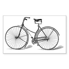 Vintage Bicycle Decal