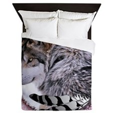Lace Wolf Queen Duvet