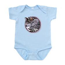 Lace Wolf Infant Bodysuit