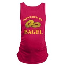 Powered By Bagel Maternity Tank Top