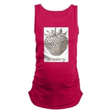 Vintage Strawberry Maternity Tank Top