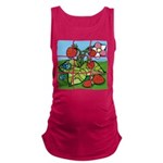 Strawberry Puzzle Maternity Tank Top