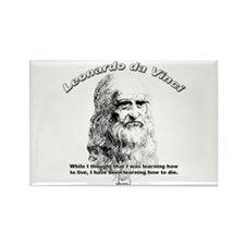Leonardo Da Vinci 03 Rectangle Magnet