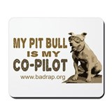Pit Bull Co-Pilot Mousepad