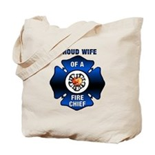 Fire Chiefs Wife Tote Bag