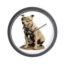Pit Bull Co-Pilot Wall Clock