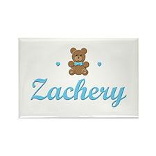Teddy Bear - Zachery Rectangle Magnet