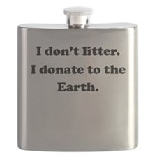 Donate To The Earth Flask