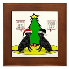 Christmas Tree Labs Framed Tile