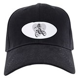 I love dirt biking with a heart Baseball Cap