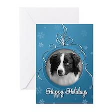 Elegant Border Collie Holiday Cards (Pk of 10)