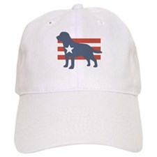 Patriotic Labrador Retriever Baseball Cap