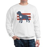 Patriotic Labrador Retriever Sweatshirt