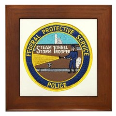 FPS Police Framed Tile