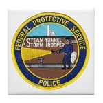 FPS Police Tile Coaster