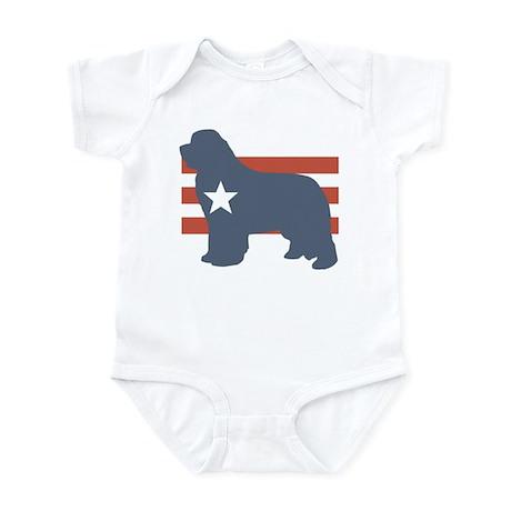 Patriotic Newfoundland Infant Bodysuit