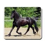 """Friesian 4"" Mousepad"