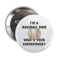 Baseball Mom Superhero 2.25