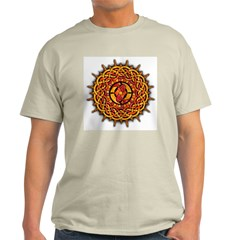 Celtic Knotwork Sun Light T-Shirt