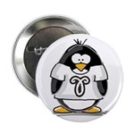 Aries Penguin Button