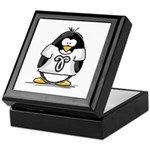 Aries Penguin Keepsake Box