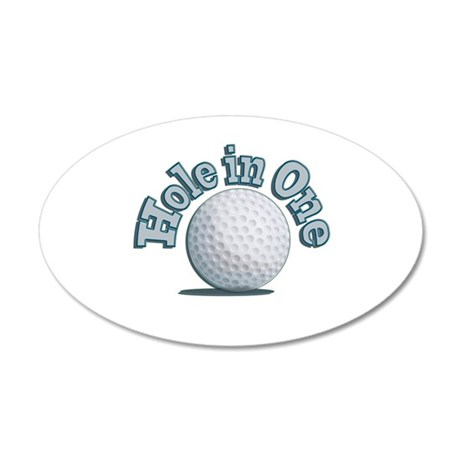 Hole in One (txt) Wall Decal