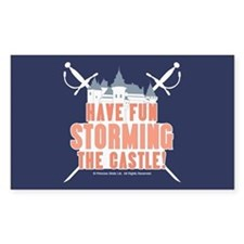 Princess Bride Storming the Castle Decal