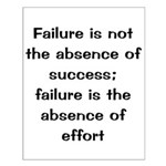 African American motivation Small Poster